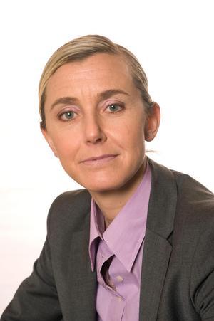 Hanna Jarl är anstalts– och häktesdirektör vid Kriminalvården. Foto: Kriminalvården