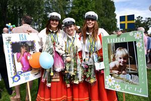 Isa Halvarsson, Mikaela Hjerpe och  Anna Eriksson har alla gått teknikprogrammet.
