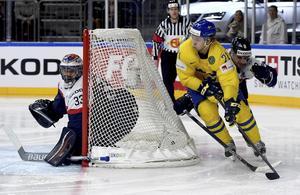 William Karlsson tog VM-guld med Tre Kronor 2017.