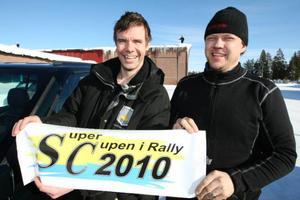 Magnus Proos och Ola Persson hoppas på fina tävlingar när Härjedalsbrickan återuppstår.  Foto: Håkan Degselius