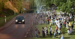 Polisen kommer att ha extra beredskap efter vägarna i helgen.