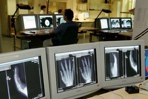 Varje år utförs 5,5 miljoner röntgenundersökningar i Sverige, skriver Irene Strandqvist. Foto: Erik G Svensson/TT