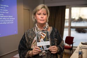Maria Clasgård pratade om sitt arbete med Sportfront om ämnet energidrycker. Foto: Bengt Pettersson