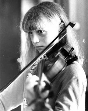 Christina Olsson var också en av deltagarna i folkmusikkursen 1979.