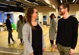 Jessica Kåla och Thomas Gilén planerar danskvällar och lunchdans.