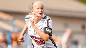 Cornelia Ellefors debuterade i BK30 redan i lördags. Foto: Anders Rejdemark