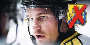 Oscar Eklund flyttar inte hem till svensk hockey än. Foto: Johanna Lundberg/Bildbyrån.