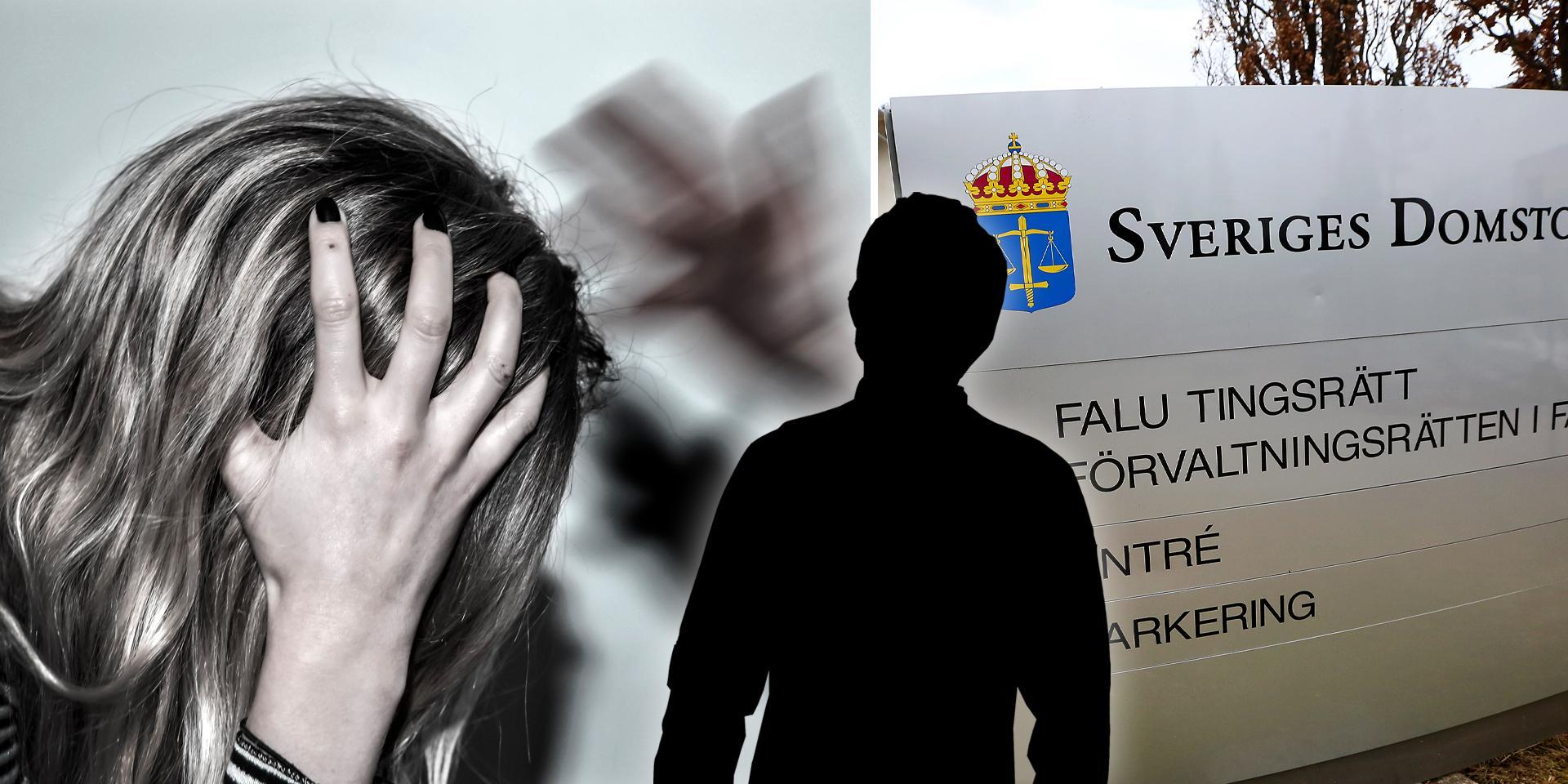 Mannen åtalas vid Falu tingsrätt för totalt tio brott. Foto: Anders Wiklund, Tomas Nyberg