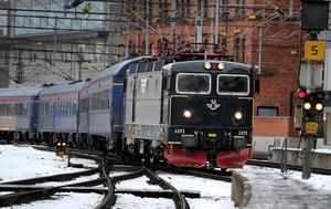 När tågen kommer och går som de ska – det kan vara ett tydligt vårtecken. Foto: Anders Wiklund/TT