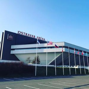 Ostravar Arena – huvudarenan för turneringen.