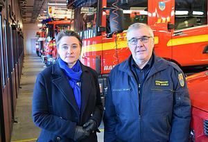 – Även vid olyckor och sjukdomstillstånd som inte bedöms kräva ambulans och IVPA kan de drabbade behöva stöd och hjälp av vår sjukvårdsutbildade räddningstjänstpersonal, anser kommunalrådet Annette Riesbeck (C) och räddningschefen Rune Daniels