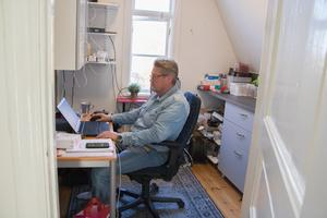 Valter Hovung är data- och it-samordnare på Väddö vård.
