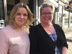 Sofia Ebers och Annika Törnberg håller just nu på att ta fram en egen smyckeskollektion som ska säljas både i deras butik Rakel och Lea och i butikens kommande webbutik. Förhoppningsvis är allt klart till sommaren.