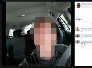 Mannen misstänks för mord på den lägre misstankegraden.  Bild: Skärmklipp från Facebook.
