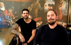 Robin Fäger och Simon Bergstrand driver Noun.