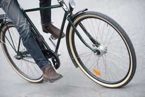 Cykeln är ett strålande färdmedel, anser Arne Spetz. Foto: Fredrik Sandberg/TT