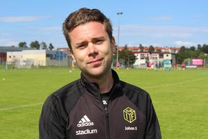 Johan Sundman är föreningsutvecklare i Kuben.