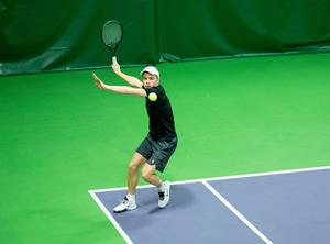 Hemmaspelaren Filip von Friesendorff gick tillsammans med Albin Östberg till kvartsfinal i JSM:s dubbelturnering i Falun.