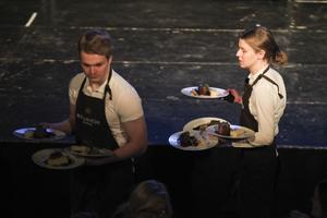 Mat till 275 gäster serverades på ridsportgalan.