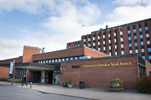 Löwenströmska sjukhuset ligger i Upplands Väsby strax söder om Arlanda.