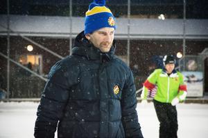 Joakim Björkman, besviken BS-tränare.