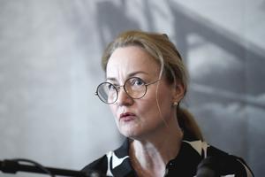 Ulrika Årehed Kågström, generalsekreterare för Cancerfonden, är en av flera som undertecknat debattartikeln. Foto: Janerik Henriksson/TT