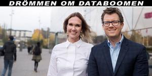 Therése Treutiger och Brian Marrs ser etableringen i Gästrikland som en långsiktig investering.