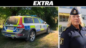 Christina Hallin, presstalesperson på Polisen. Arkivfoto: Rickard Berglin/Leonora Toplica