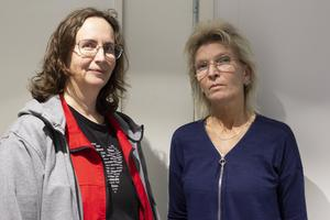 Eva Rydström och Anita Tigerstrand arbetar båda som lokalvårdare på Aefab.
