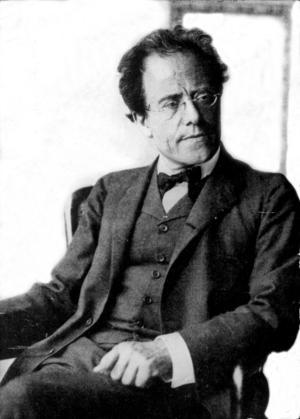 Gustav Mahler 1860-1911.