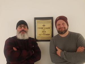 Artikelförfattarna Tony Björk och Rikard Rudolfsson.