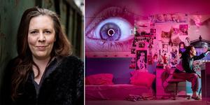 """""""Förhör"""" är Martina Montelius specialskrivna pjäs för högstadiet beställd av Örebro länsteater. – Jag fick frågan om jag kunde skriva något, vad jag vill, för den här åldersgruppen. Och då blev det det här, säger hon och berättar att det också var en förutsättning för att hon skulle tacka ja – att hon fick fria händer. Foto: Christine Olsson/TT och Kicki Nilsson/Icon Photography (Bilden är ett montage)"""