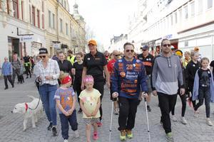 "Bissen Brainwalk 2019 Köping. Mathias ""Bissen"" Larsson och Per Granberg."