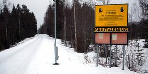 Skjutfälten på Tjärnmyran är en fördel för Sollefteå inför eventuella beslut om nya etableringsorter för militär verksamhet.  Foto: Jonny Dahlgren/arkiv