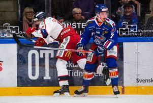 Marcus Björk gjorde 15 poäng i Asplöven i hockeyettan förra säsongen. Den siffran är redan överträffad i hockeyallsvenskan den här hösten.Foto: Suvad Mrkonjic / Bildbyrån