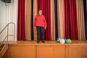 Margita Gustavsson är ordförande i hembygdsföreningen som äger och driver bygdegården.