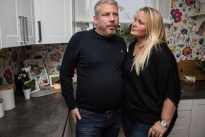 – Hon har funnits. Släkt och vänner kan dela  sorg och minnen, även i framtiden, säger Christer Nilsson och Maria Lärka.