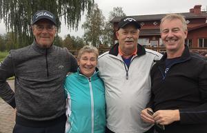 Från vänster Bo Sundell, Marianne Larsson, Matts Persson, Peter Nylund  Foto: Thomas Lindberg