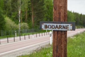 Vid Bodarne mellan Djupnäs och Västansjö är en av de tänkta uppställningsplatserna för plåtfigurerna.