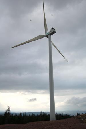 Ett av vindkraftverken som nu saknar bygglov.