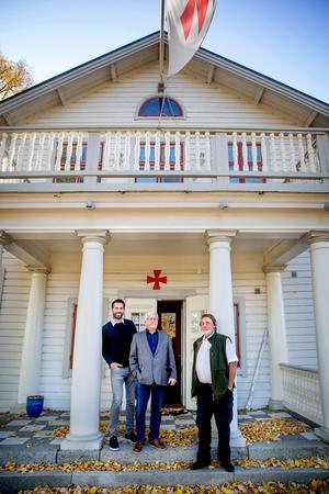 Frimurarbröderna Nicholas Thalén, Staffan Ternby och Anders Bruse är eniga om att det är samvaron och gemenskapen med andra bröder som är viktig.