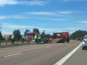 Inga personer skadades i olyckan.
