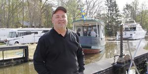 """Härligt väder, mycket folk och inga incidenter. """"Sluss-Janne"""" Eriksson var nöjd med årets utdockning."""