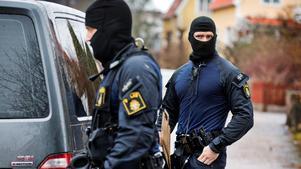 Det var under onsdagen som polisens insatsstyrka slog till mot flera adresser i Västerås.