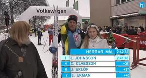 Jimmie Johnsson vann Engelbrektsloppet herrklass.