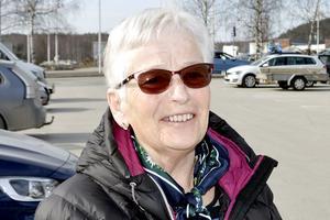 Inger Bergsten, 78 år, pensionär, Alnö: