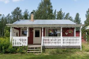 Fritidshuset byggdes 1975. Foto: Svensk Fastighetsförmedling Fagersta