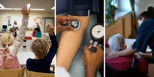 Skola, sjukvård och äldreomsorg är bara några exempel på vad vi får för våra skattepengar, menar Jennifer Lundquist. Bilder: TT