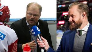 Sanny Lindström, nu expert och krönikör, berättar om