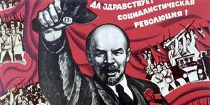 Det är kränkande att påstå att den som är emot kommunism är fascist, anser insändarskribenten. På bilden Lenin.